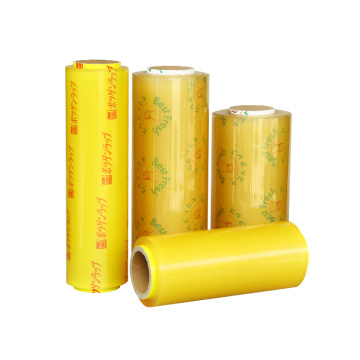 PVC stretch film wrap for food