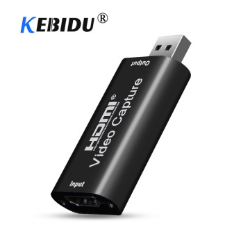 HD 1080P 4K Video Capture Card HDMI-compatible To USB 2.0 3.0 Capture Board Game Record Live Streaming Broadcast Local Loop Out