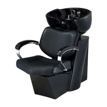 Shampoo Unit with Bowl Black