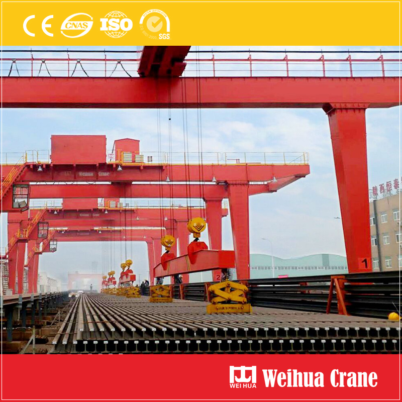 Gantry Crane For Track Handling