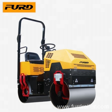 FYL880 1t Mini Road Roller with Vibratory Smooth Drum