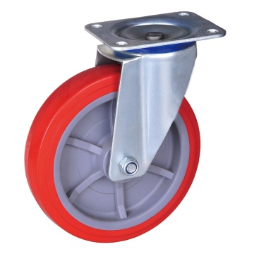 4 inch industrial caster with pu wheel