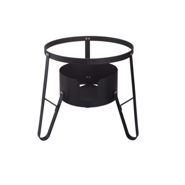 Heavy duty portable burner cooking stand
