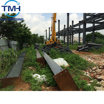 the famous steel structure buildings with wholesale price