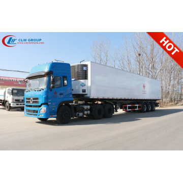 Brand New 15meters 77m³ 3Axles Refrigerated Semi Trailer