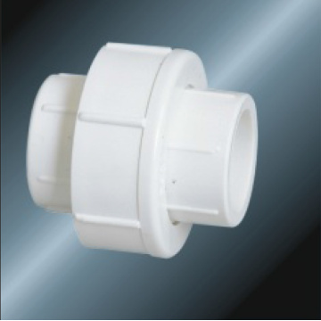 Din Pn10 Water Supply Upvc Union White Color