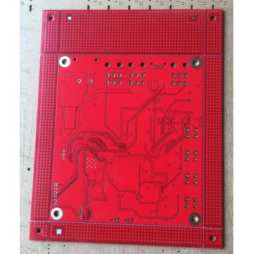 4 layer 2OZ  red solder PCB