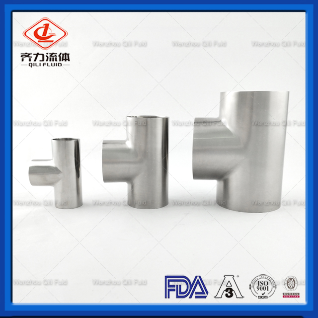Sanitary SS304/316L 3A/SMS/DIN/BS Tube/Elbow/Tee Cross Pipe Fittings