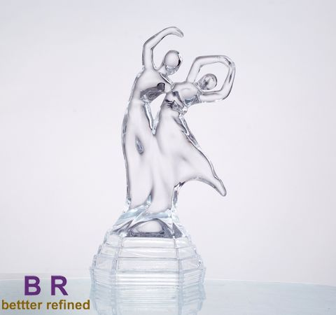 decorative glass dancer
