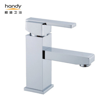 Square Type Bathroom Cabinet Basin Mixer Faucets