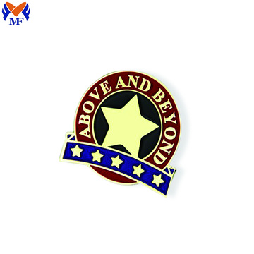 Advertising Lapel Pin Badge With Soft Enamel