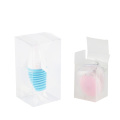 Candy folding small plastic transparent box
