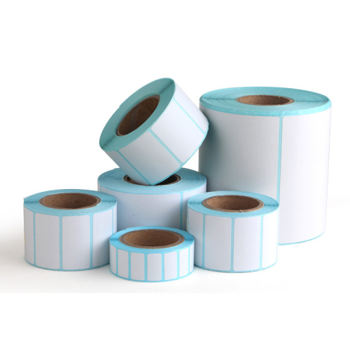 Blank Eco Friendly Direct Thermal Sticker Paper Rolls