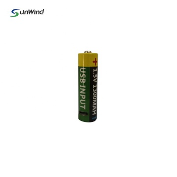 AA Usb input Aa rechargeable Battery