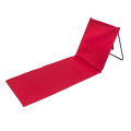 Adjustable Backrest Beachcomber Mat Folding Chair