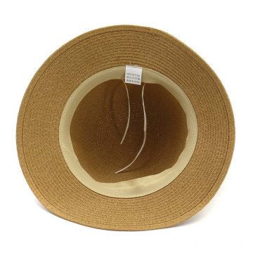 Large scarves bowtie summer straw hat