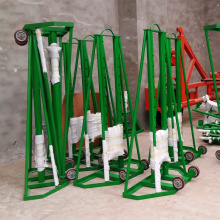 Cable Drum Jack Hydraulic Stringing Equipment Grounding Cable Reel Stand