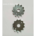 Zinc plated toothed plate connectors washer