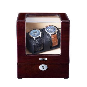 Watch Winder For Two Watches with Quiet Motor