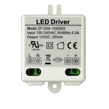 Οδηγός LED 6W 12V 0.5A Mini Constant Voltage