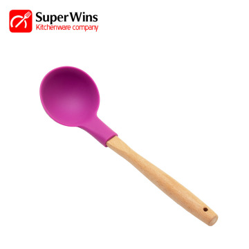 Silicone Rubber Hot Pot Function Soup Ladle