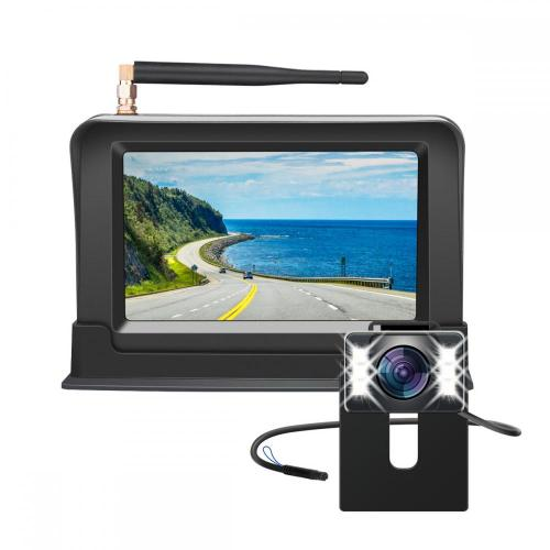 4.3inch Wireless Rear View Backup Camera Kit
