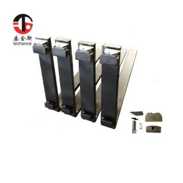 black color pallet forks for crane forklift