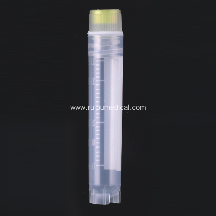 Cryogenic Cryo Vials for Medical Use