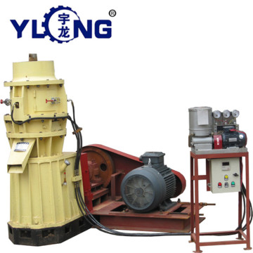 Animal manure pellet making machine