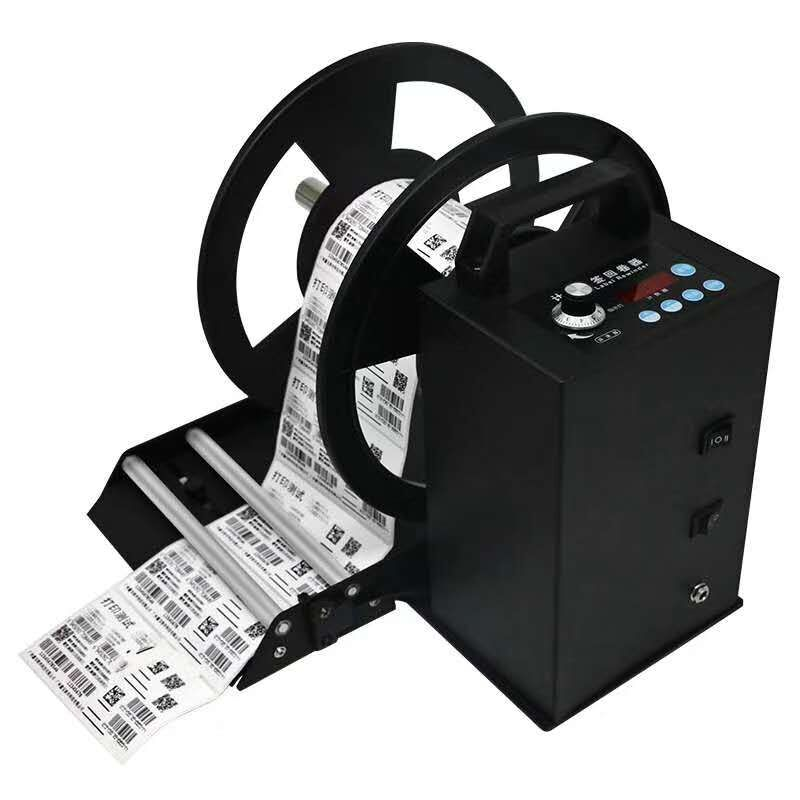 label rewinder with counter