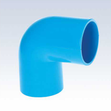 UPVC JIS K-6743 Pressure Elbow 90° Blue Color