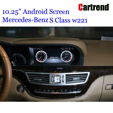 "10.25"" Android Multimedia Screen for Mercedes S Class"