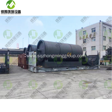 Plastic to Oil Pyrolysis Converter