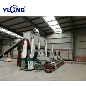 Biomass Sawdust Pellets Machine