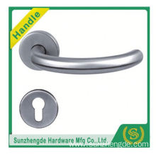 SZD STH-118 America Popular Wholesale Round Wooden Stainless Steel Tube Door Knobs Handle304 with cheap price