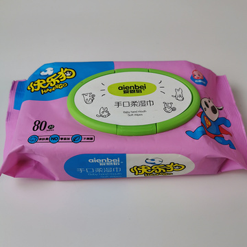 80PCS Disposable Unscented Sensitive Baby Wipes