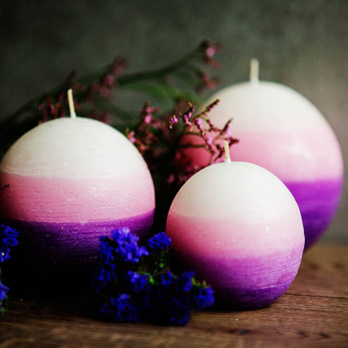 Cheap wedding decorative unscented big round pillar candle
