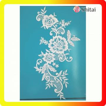 Tulle embroidery lace for wedding&evening dress
