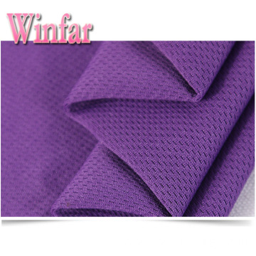 Wicking Knit Polyester Mesh Bird Eye Knit Fabric