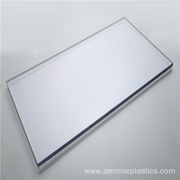 Standard size 48''x96'' clear polycarbonate plastic panel