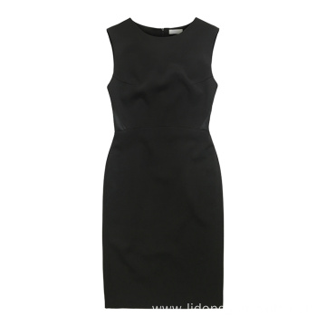 Women Casual Summer Customized Sleeveless Office Lady Dress