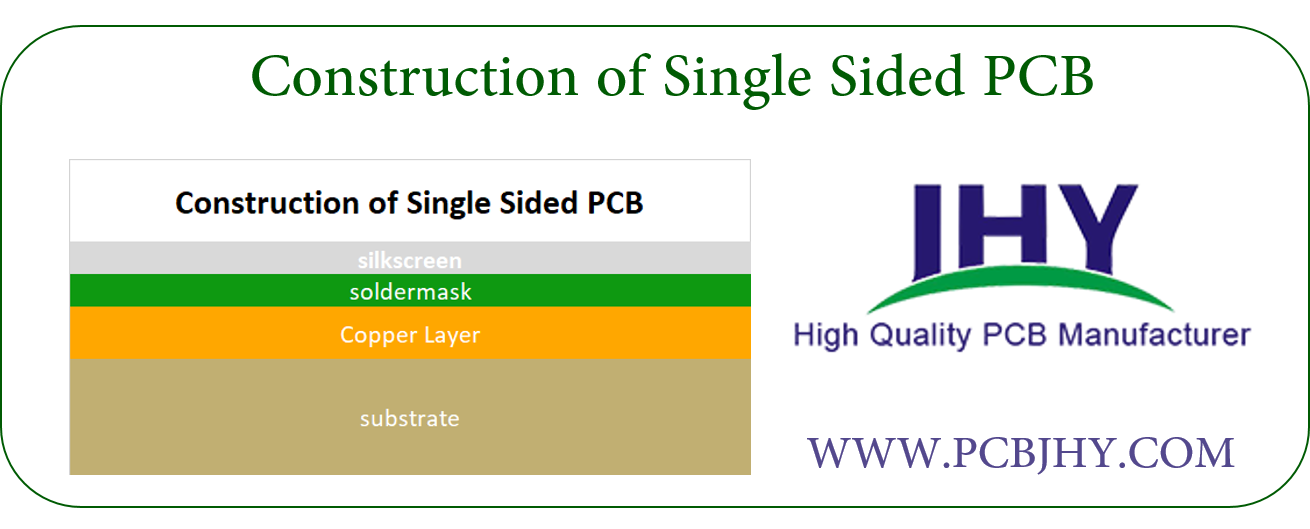 Construction of Single Sided PCB | PCB manufacturing