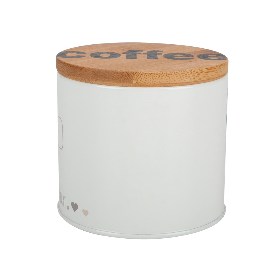 Bamboo Storage Canister