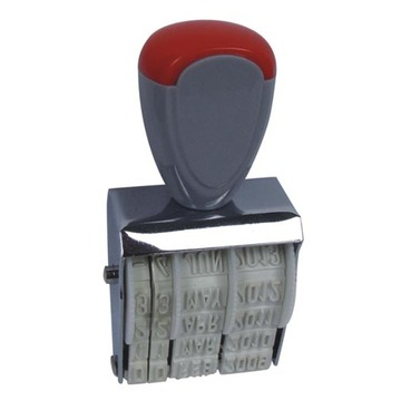 Plastic 5mm Date Stamp
