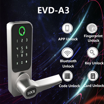Mobile APP Remote control fingerprint door lock