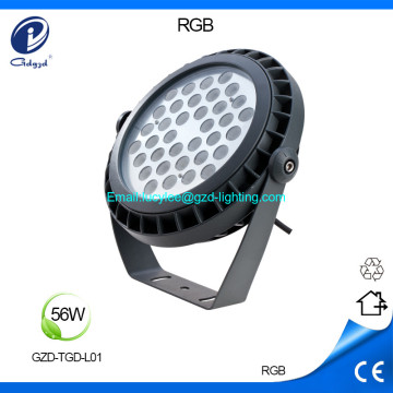 56W high power IP65 waterproof led flood light