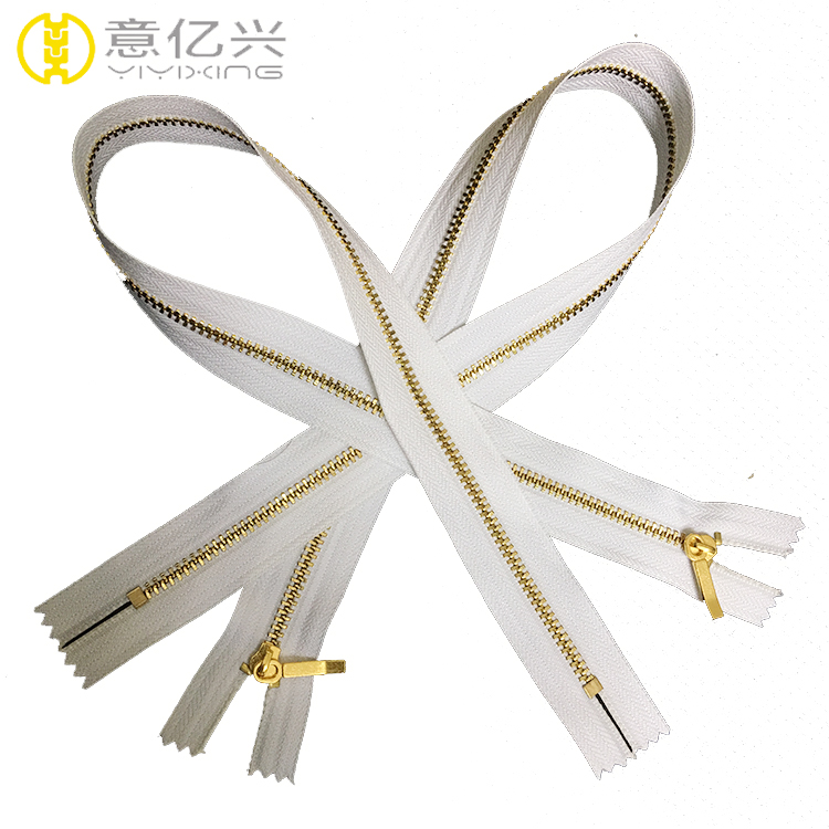 metal zipper for pillow