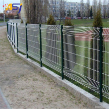 5mm pvc coated curved fencing panels