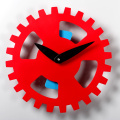 No.1 Plastic Wall Gear Clock