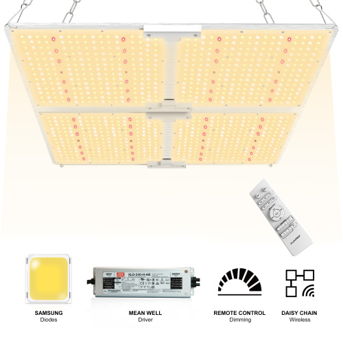 2.4G LED grow panel lamp 450W full spectrum